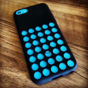 Blue case iPhone